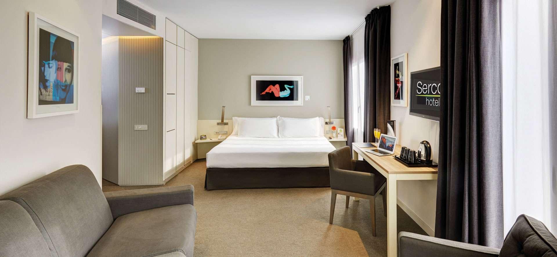 Hoteles urbanos que destacan por su óptima ubicación y la calidad de sus servicios e instalaciones